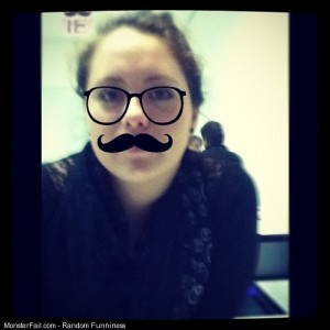 Mustache lol by morafot hahaha