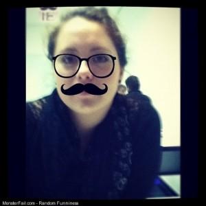 Mustache lol by morafot hahaha