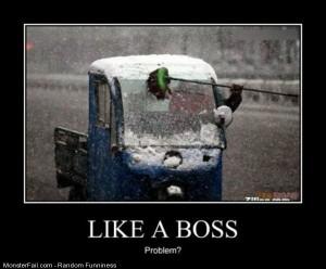 Funny Pics Boss Driver