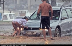 Funny Pics Rainy Day