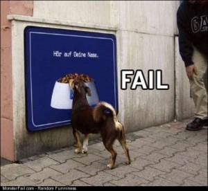 Puppy chow fail