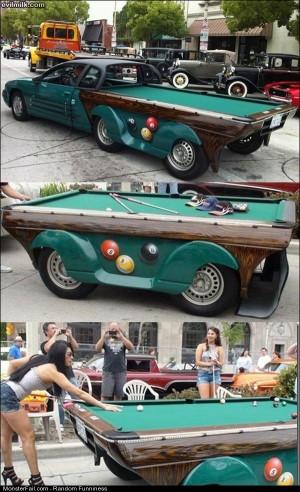 Funny Pics Rolling Billiards