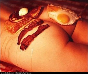 Funny Pics Breakfast Is Served