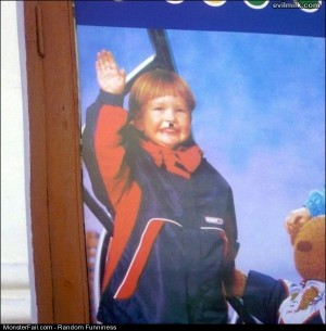 Funny Pics Evil Kid