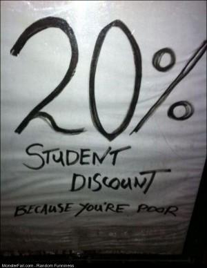 Funny Pics Student Discount