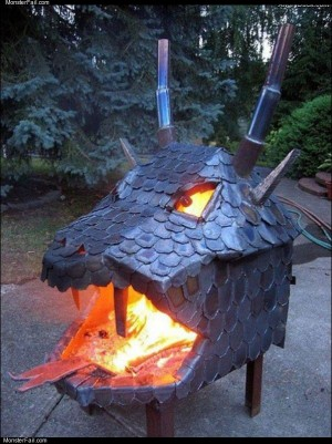 Monster fire pit