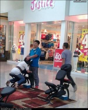 Funny Pics Head Massage
