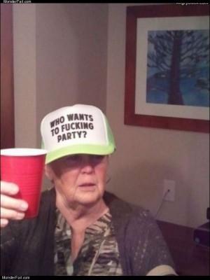 Party grandma