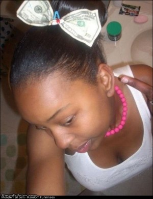 Money Hair Tie