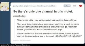 Funny Pics Mr Noodle