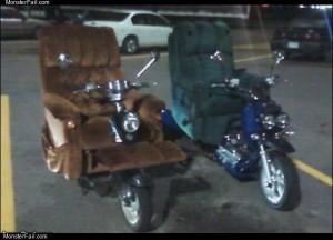 Lazy boy bikes