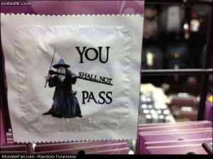 Funny Pics Shall Not Pass