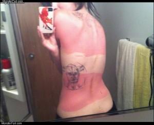 Nice sun burn