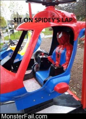 Sit On Spideys Lap