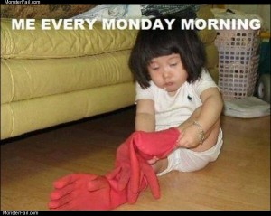 Monday mornings