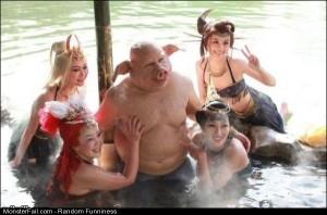 Funny Pics Pig Man