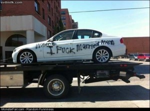 Funny Pics Some Whores Car