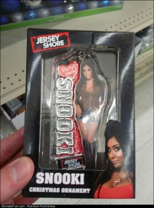 Funny Pics Snooki Ornament