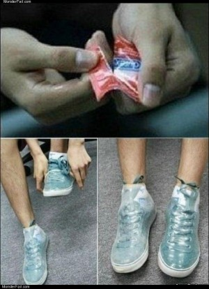 Protect your shoes