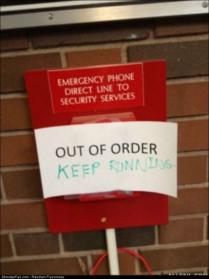 Fail out Of Order