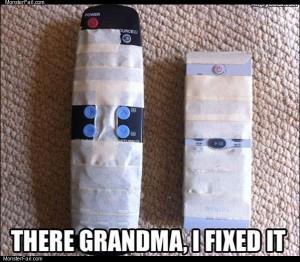 Grandma remote