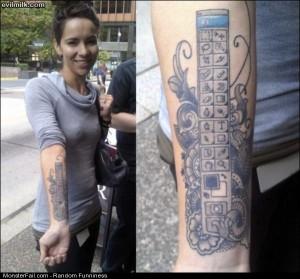 Funny Pics Photoshop Tattoo