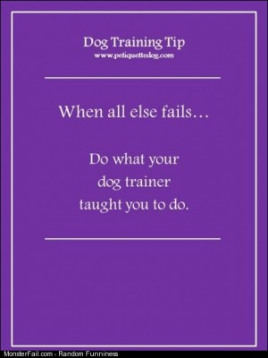When training fails