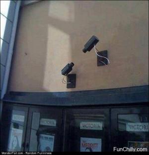 Security Cam Fail