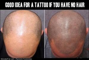Funny Pics Hair Tattoo