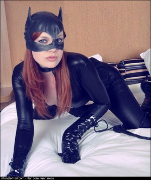 Funny Pics Cat Woman