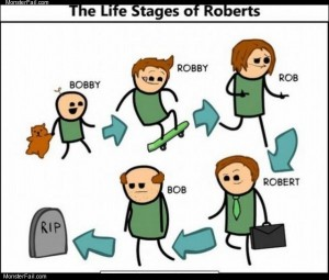 Stages of roberts
