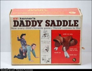 Funny Pics Daddy Saddle