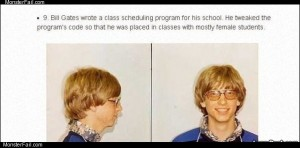 Bill gates like a boss