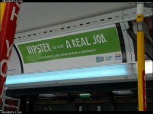 Hipster is not a job