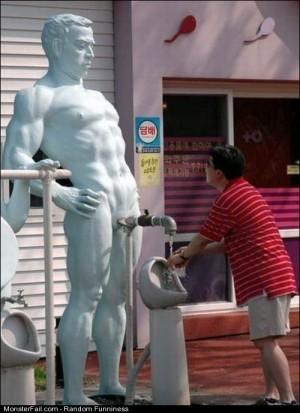 Funny Pics Strange Statue