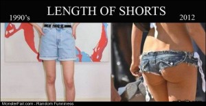 Funny Pics Length Of Shorts