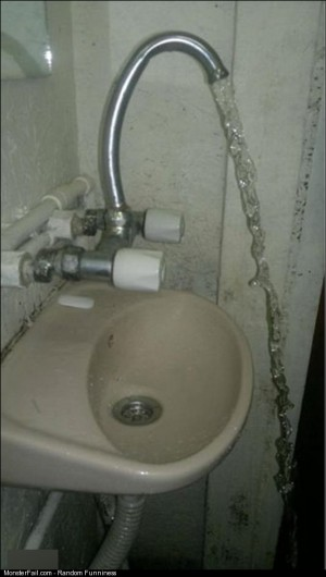 Sink Design Fail