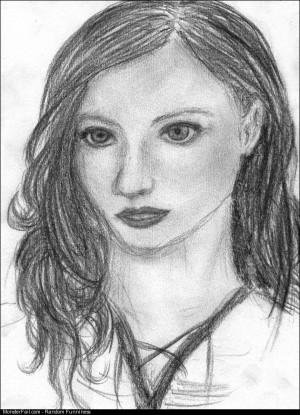 I drew a lot portraits when I was a teenager