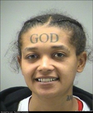 Fail the God Tattoo