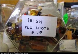 Funny Pics Irish Flu Shots