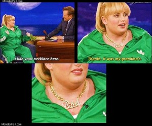 I like your necklace