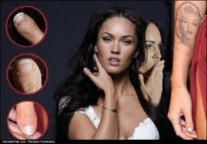 Megan Fox Not So Perfect