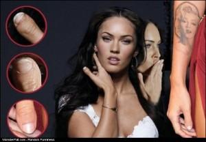 Megan Fox Not So Perfect