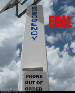 Emergency Phone FAIL