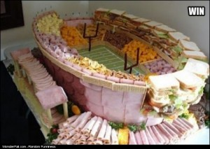 Superbowl Food Win