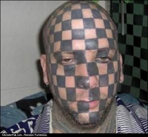 Facial Tattoo FAIL