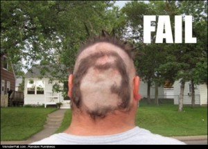 Haircut FAIL