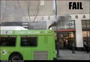 Cleaner Emissions FAIL