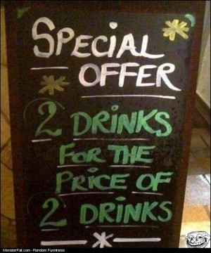 A special offer you just