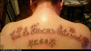 Tattoo FAIL  Love Is